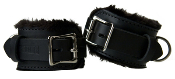 STRICT LEATHER PREMIUM FUR LINED CUFFS BONDAGE GEAR