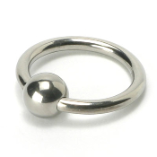 STEEL BALL COCK HEAD RING