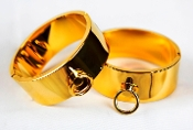 POLISHED GOLD PREMIUM WRIST AND ANKLE CUFFS