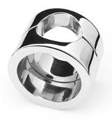 STAINLESS STEEL PENIS TRAP COCK RING