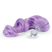 LAVENDER PURPLE DETACHABLE PONY TAIL BUTT PLUG