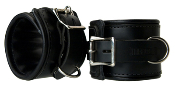 BONDAGE GEAR STRICT LEATHER PADDED PREMIUM LOCKING RESTRAINTS