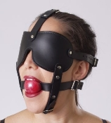 BONDAGE GEAR HEAD HARNESS