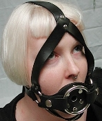 TRAINER BALL GAG WITH STRAPON GAG