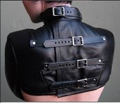 BOLERO STRAITJACKET LEATHER BONDAGE GEAR