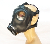RUBBER GAS MASK BONDAGE GEAR