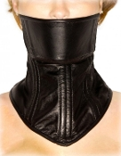 STRICT LEATHER NECK CORSET BONDAGE GEAR