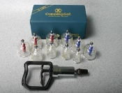 CUPPING SET WITH ACU POINTS BONDAGE TOYS