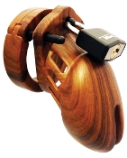 CHASTITY DEVICE CB6000S DESIGNER SERIES WOOD