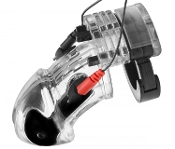 ELECTROSEX GEAR LOCKDOWN ESTIM MALE CHASTITY CAGE