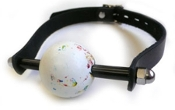 BONDAGE GEAR JAW BREAKER BALL GAG