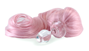 BABY PINK DETACHABLE PONY TAIL BUTT PLUG