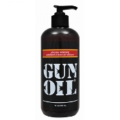 GUN OIL SILICONE LUBE 16 OZ BOTTLE