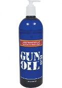 GUN OIL H2O WATER BASED LUBE 32 OZ BOTTLE