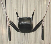 PREMIUM LEATHER BONDAGE SLING BONDAGE GEAR