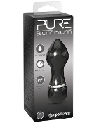 PURE ALUMINIUM SMALL BLACK VIBRATOR