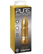 PURE ALUMINIUM SMALL GOLD VIBRATOR