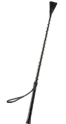 BONDAGE EQUIPMENT CORRECTIONAL RIDING CROP BLACK
